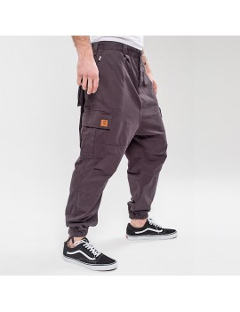 PANTALON CARGO BASIC ANTHRA...