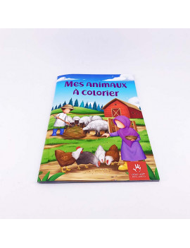 MES ANIMAUX À COLORIER -...