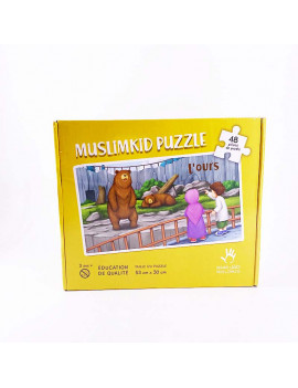 PUZZLE MUSLIM KIDS L'OURS...